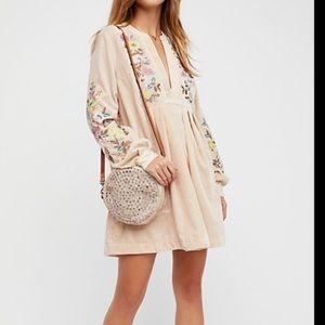 NEW NWT Free People Mia Velvet Dress